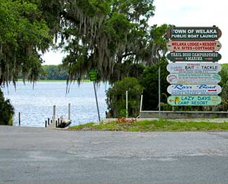 Welaka Boat Launch near St. Johns River Hill